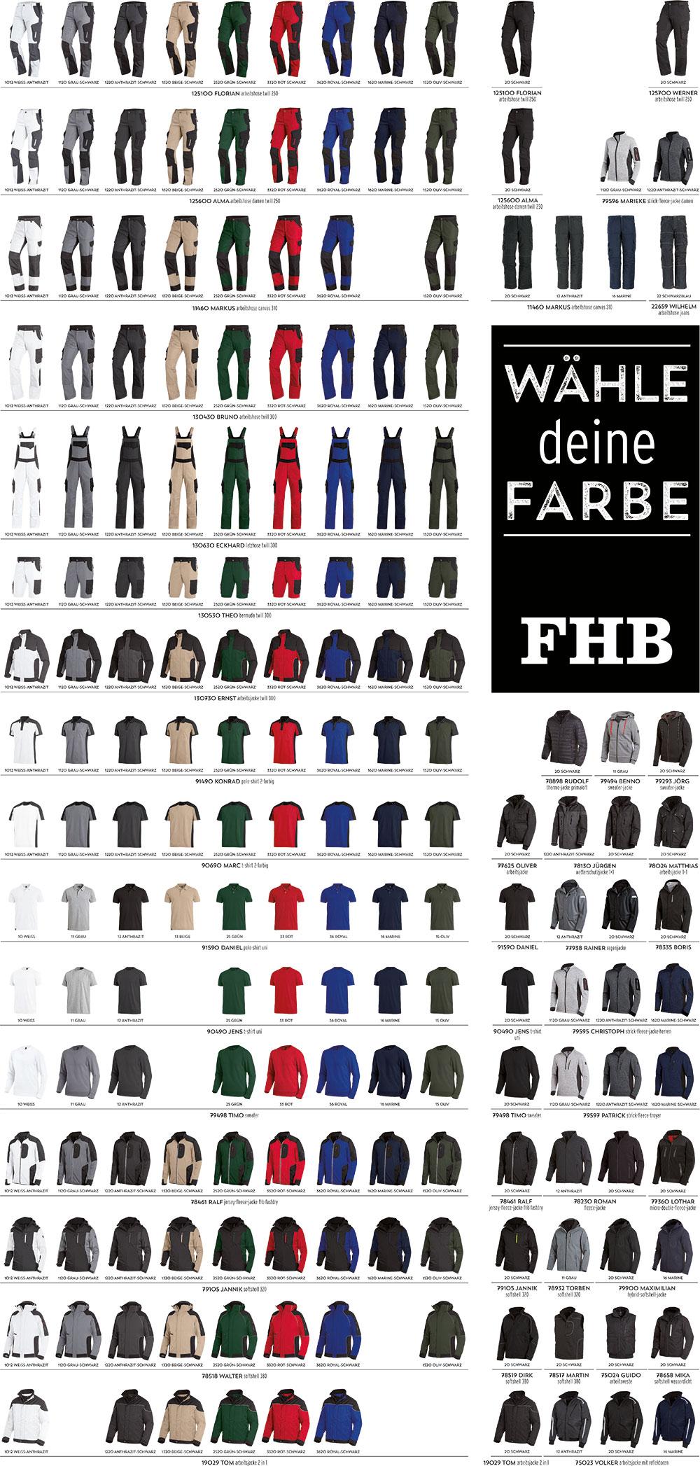 FHB Wähle deine Farbe