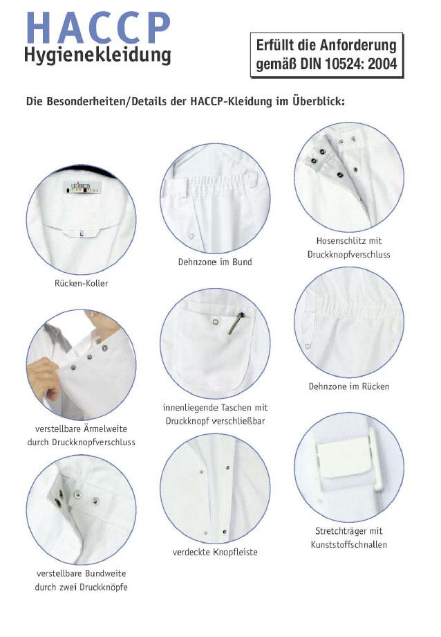 HACCP Hygienekleidung